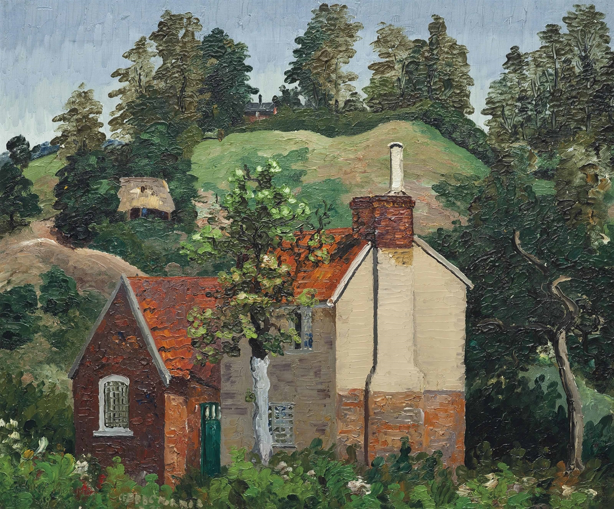 Cedric Morris-Kiln Farm Higham-1929