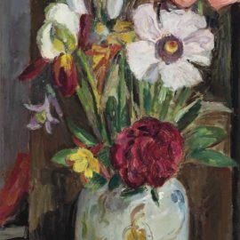 Vanessa Bell-Still life with summer flowers-1945