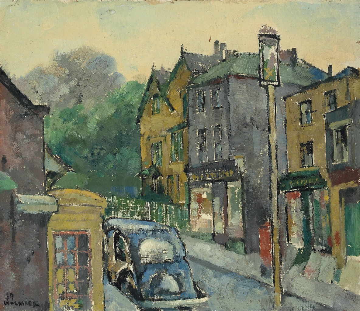 Alfred Wolmark-North End Hampstead-1939