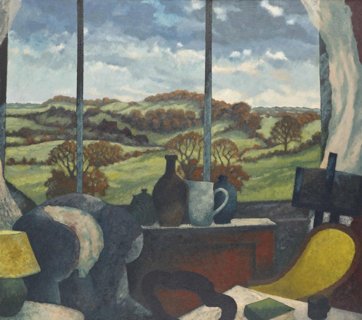 Gerald Jarman-Shropshire landscape-