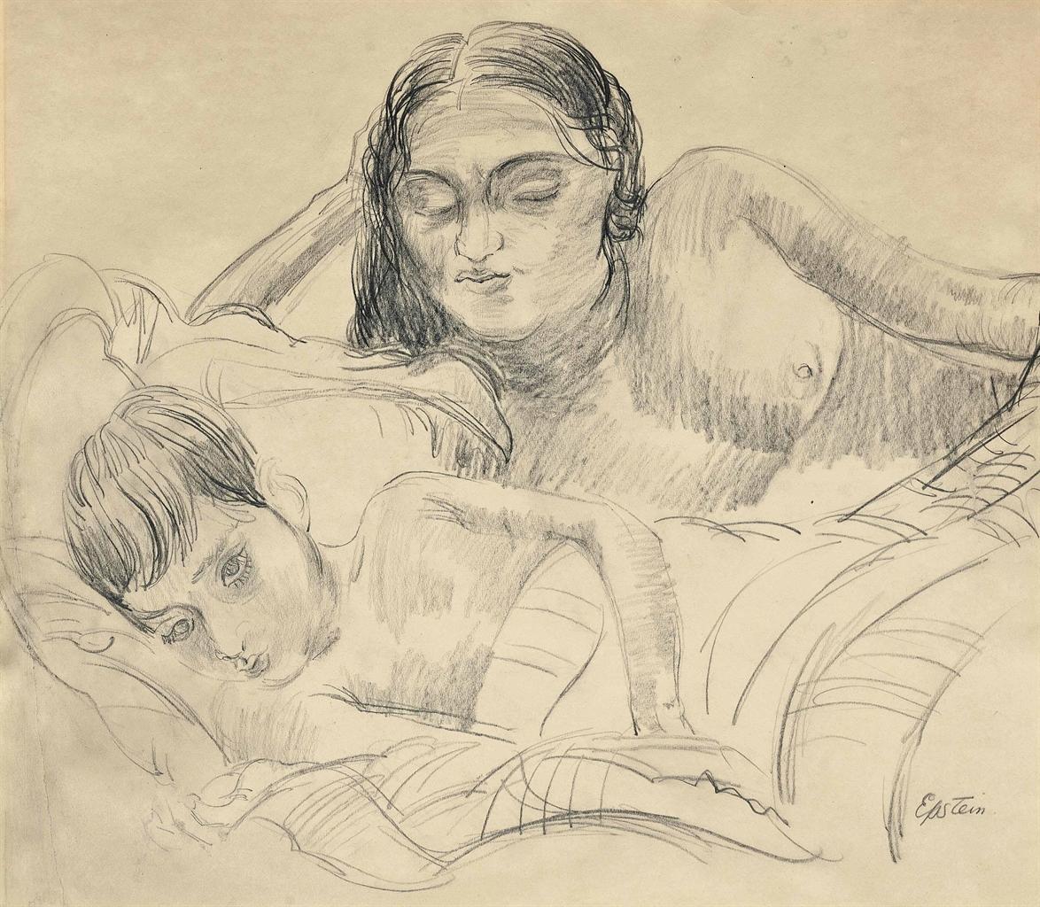 Jacob Epstein-Sunita and child-