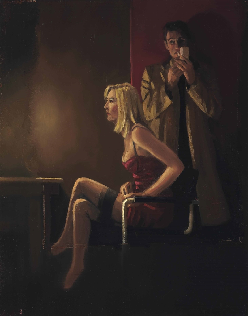 Jack Vettriano-The Great Deal-2003