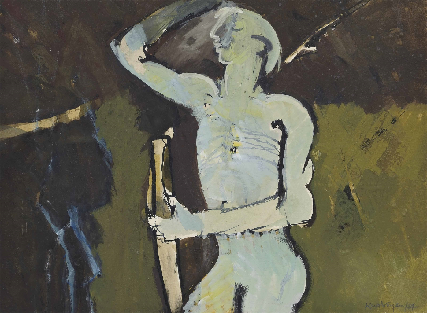 Keith Vaughan-Orpheus-1954