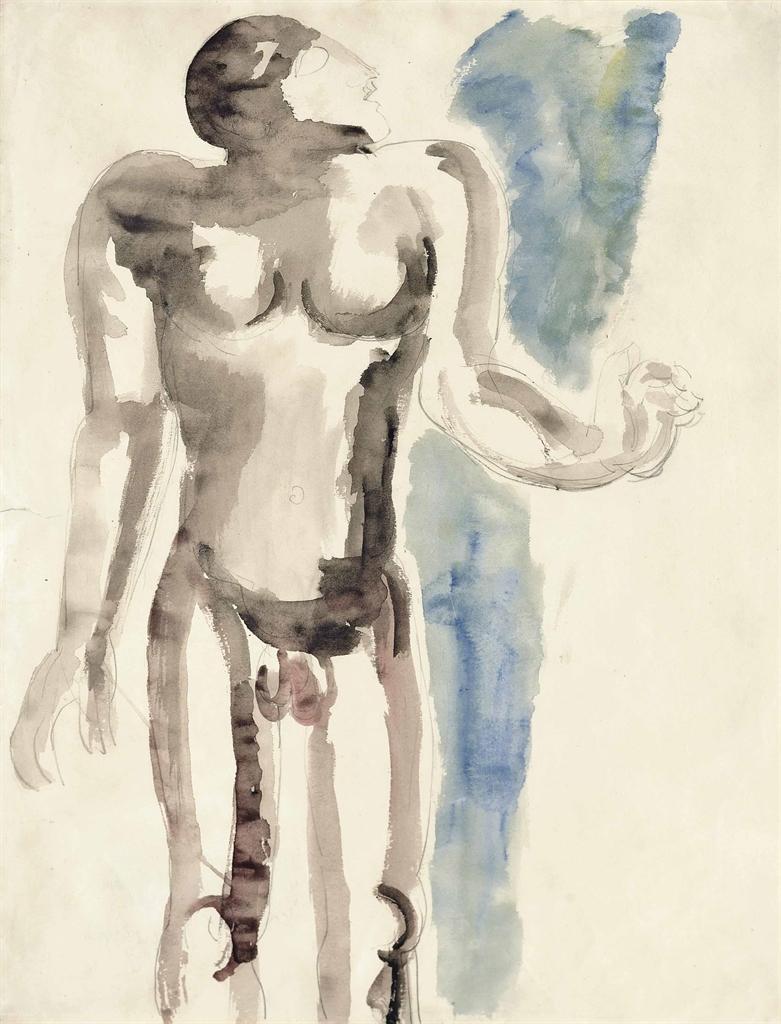 Jacob Epstein-Adam-1930
