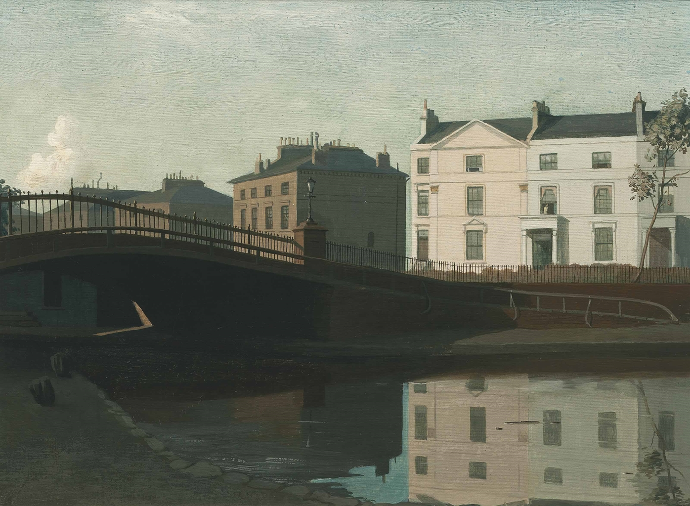 Algernon Newton-The Regent's Canal-1922