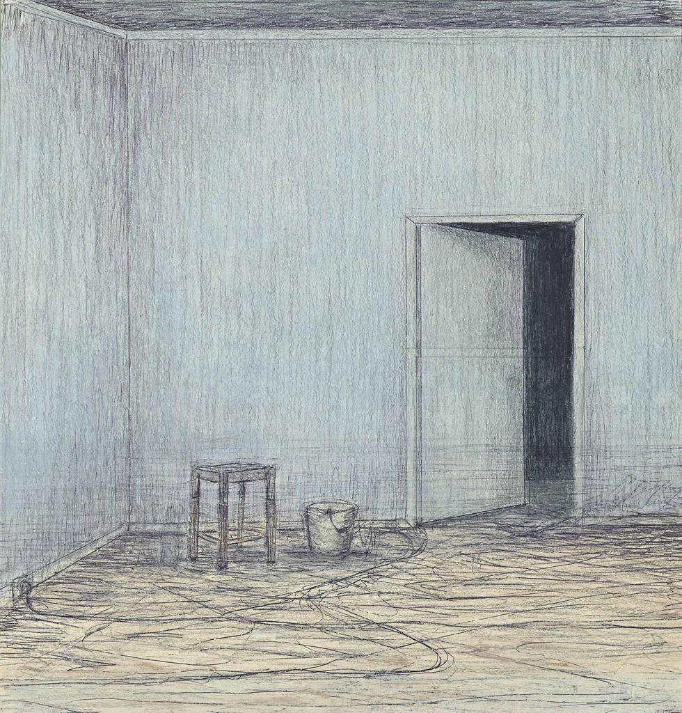 John Davies-Room (Half-Open Door)-1979