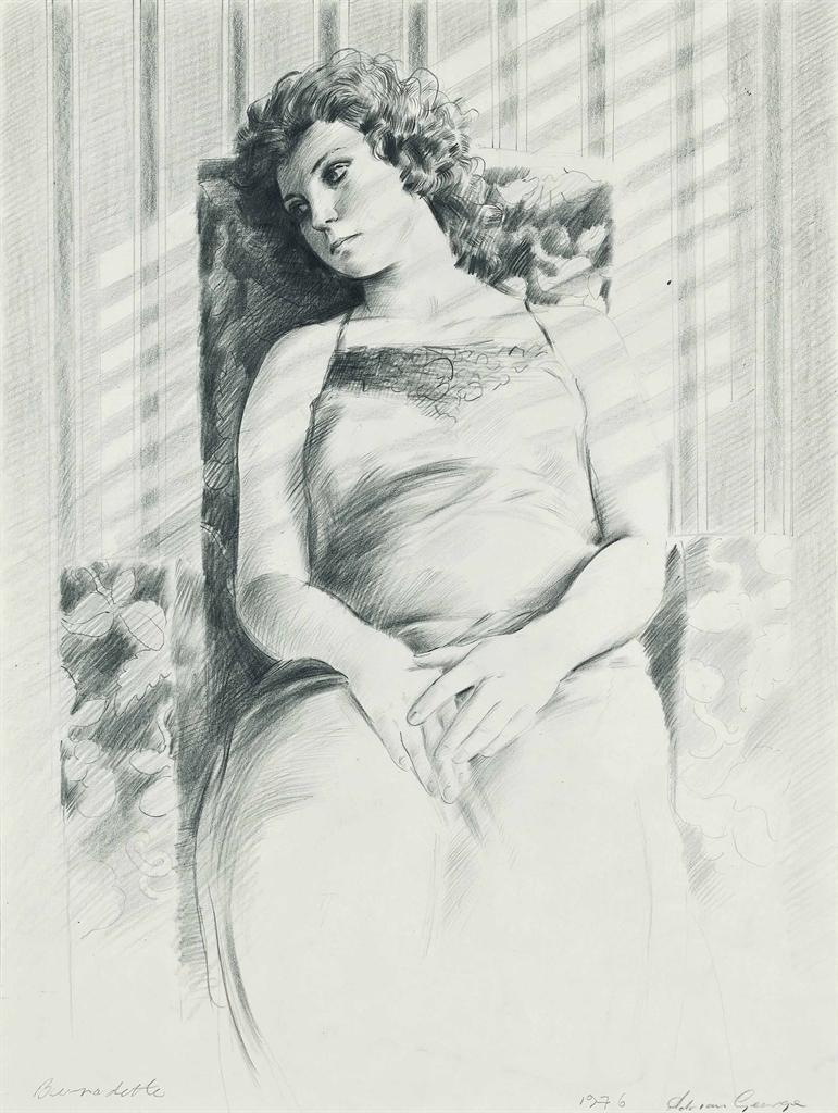 Adrian George-Bernadette-1976