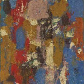 Ralph Rumney-Untitled (Blue)-1958