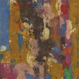 Ralph Rumney-Untitled (Pink)-1958