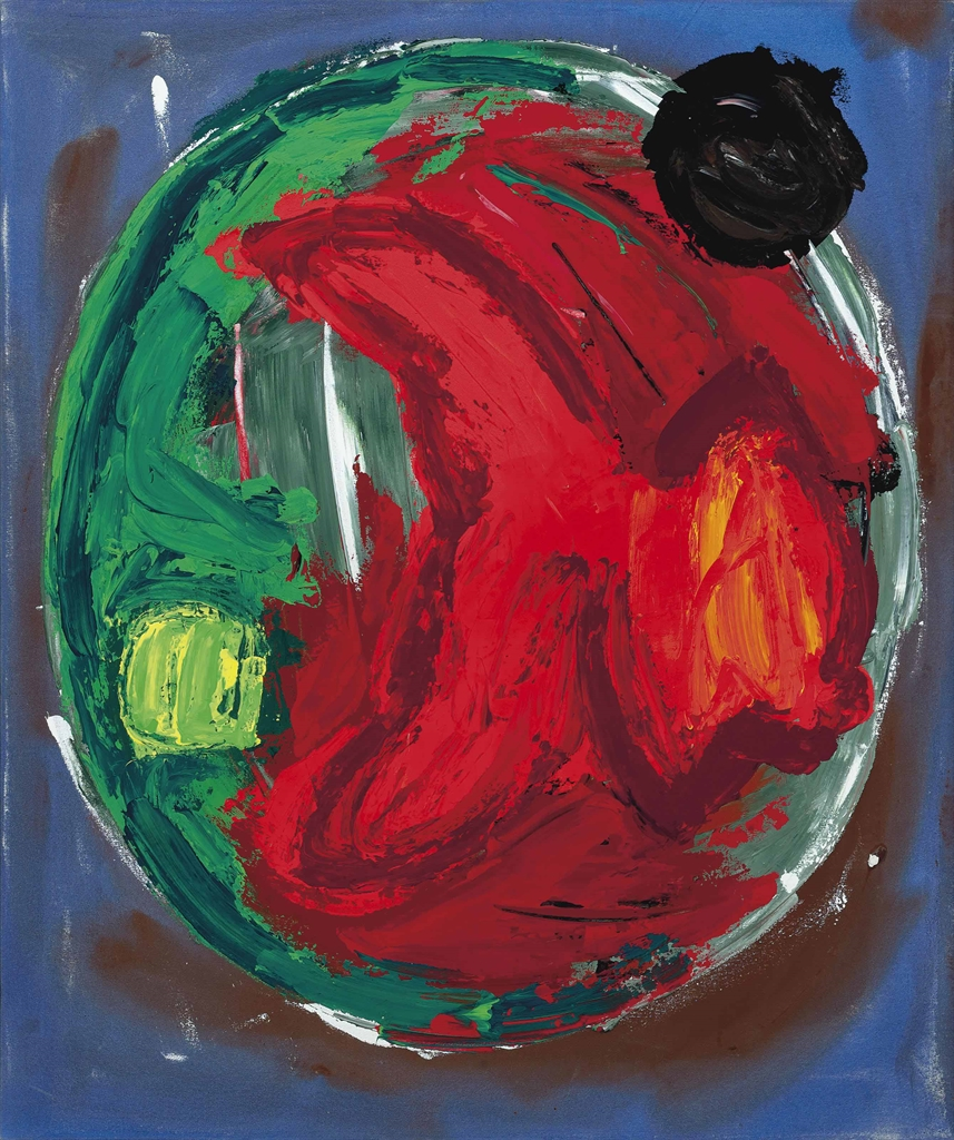 John Hoyland-Encircling Stone 4.8.85-1985