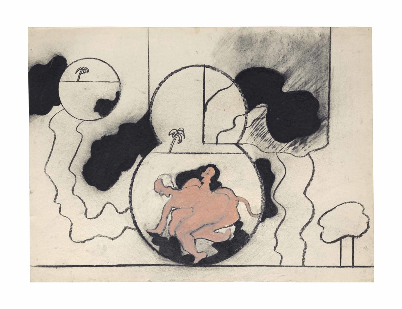 Derek Boshier-Untitled (Pink)-1963