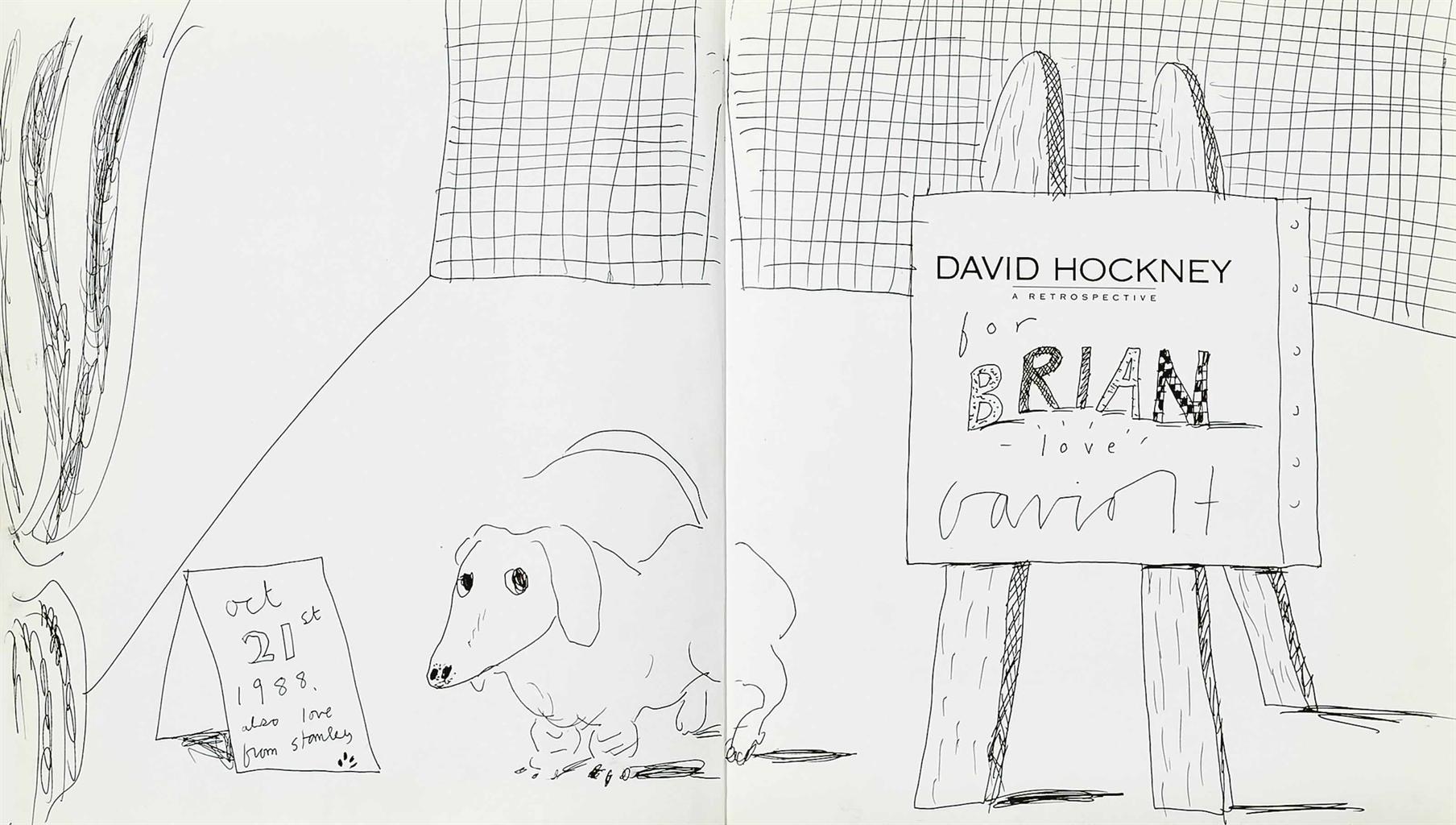 David Hockney-Stanley-1988