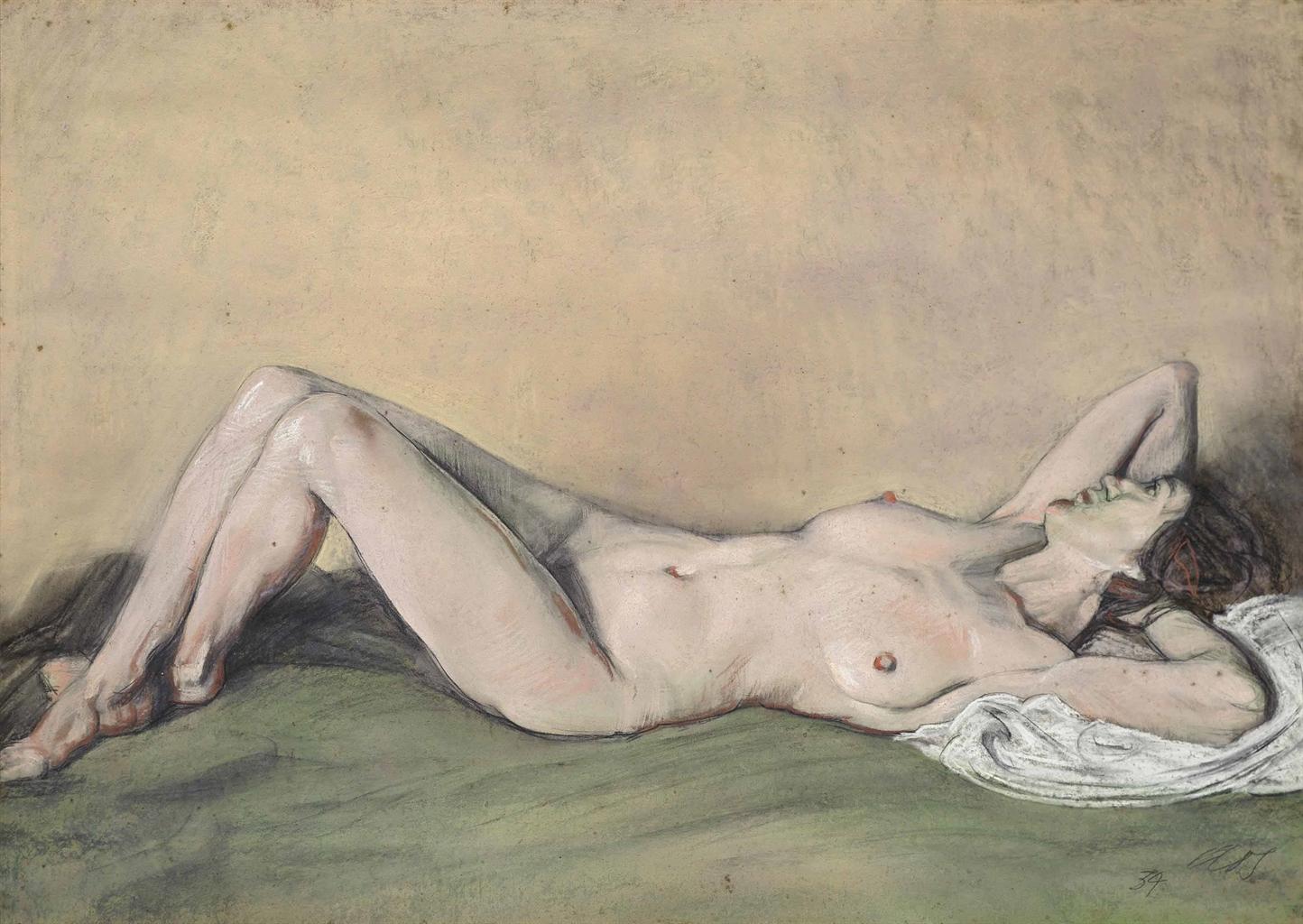 Austin Osman Spare-Nude-1934
