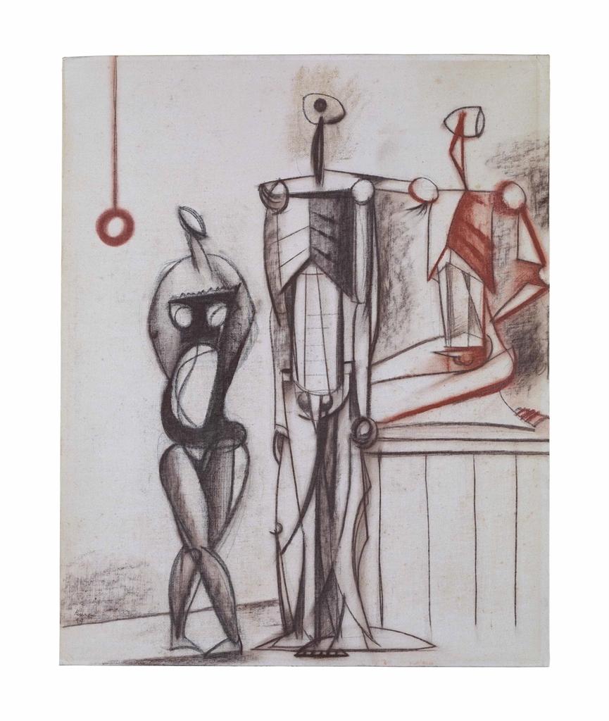Roland Penrose-The Ventriloquist-1949
