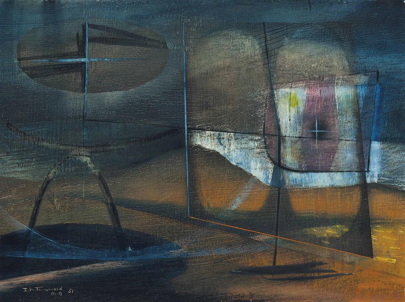John Tunnard-Erebus-1961