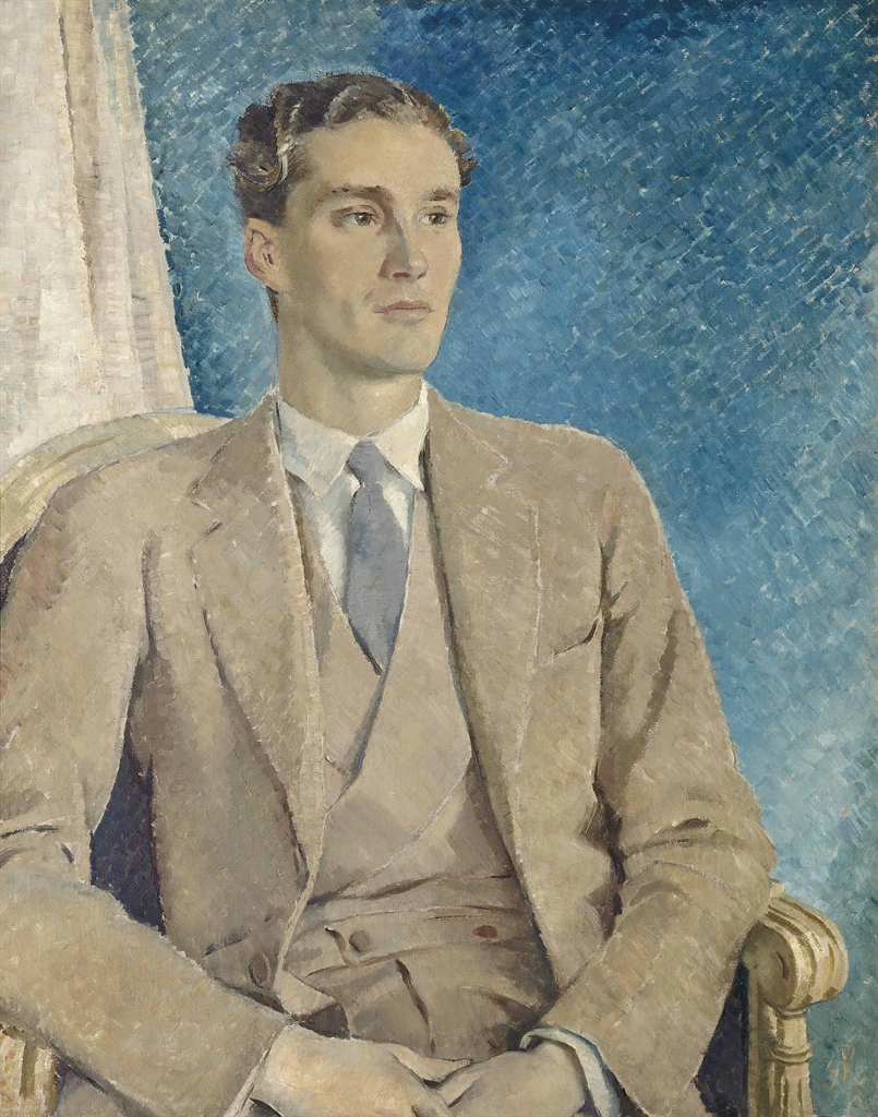 Glyn Warren Philpot-Portrait of Patrick Buchan-Hepburn Lord Hailes-1934