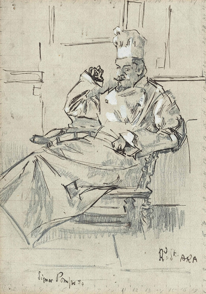 Walter Richard Sickert-Signor Pomposo-