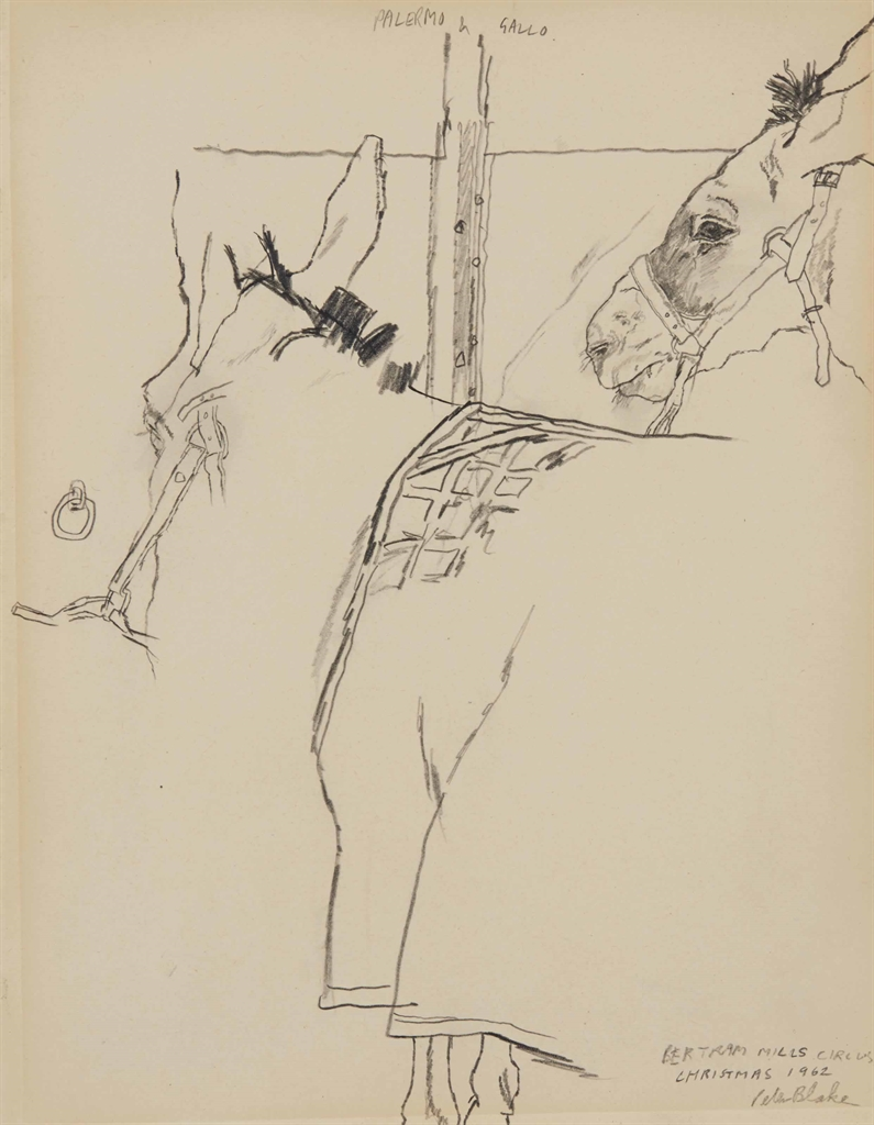 Peter Blake-Palermo & Gallo Bertram Mills Circus-1962