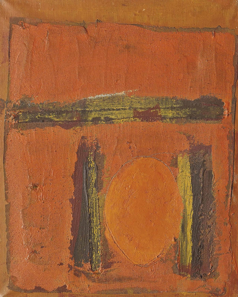 Joe Tilson-Red Disc-1960