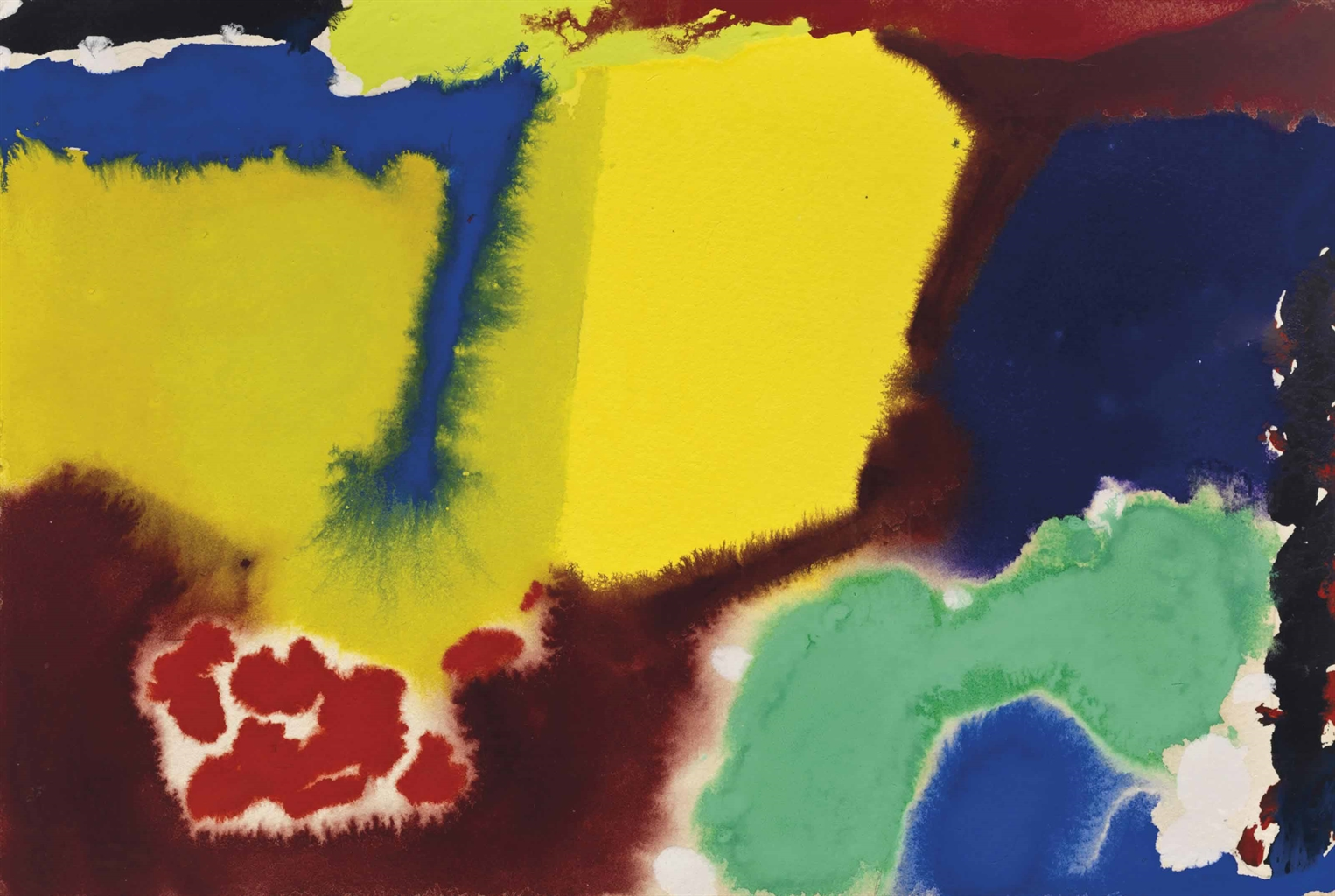 Patrick Heron-Composition-