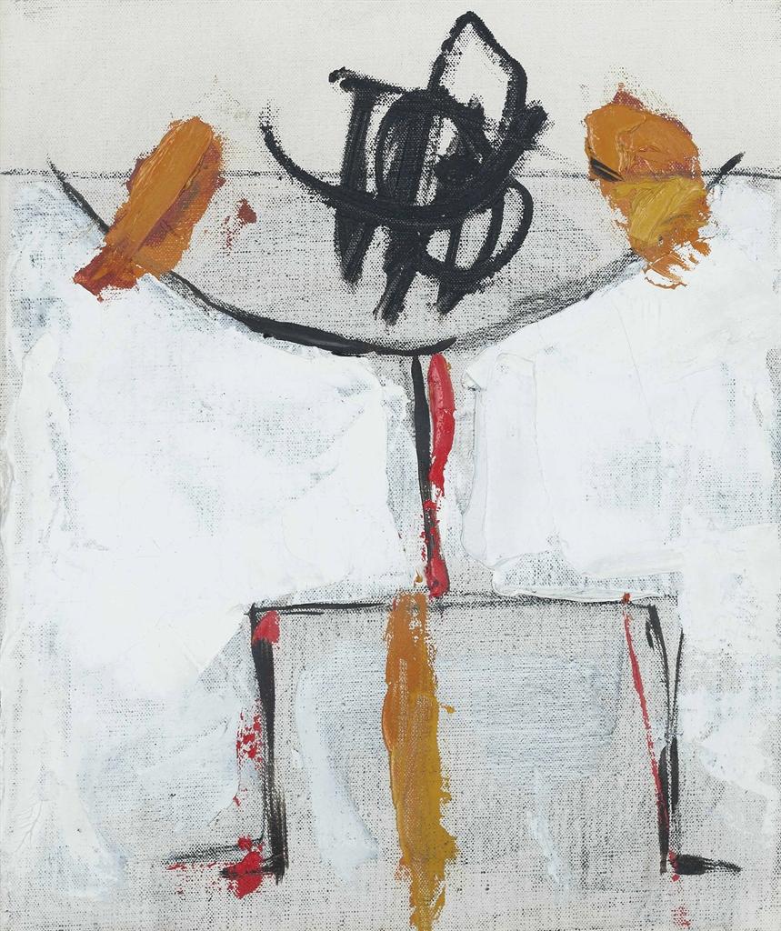 Roger Hilton-Abstract (A) 1963-1963