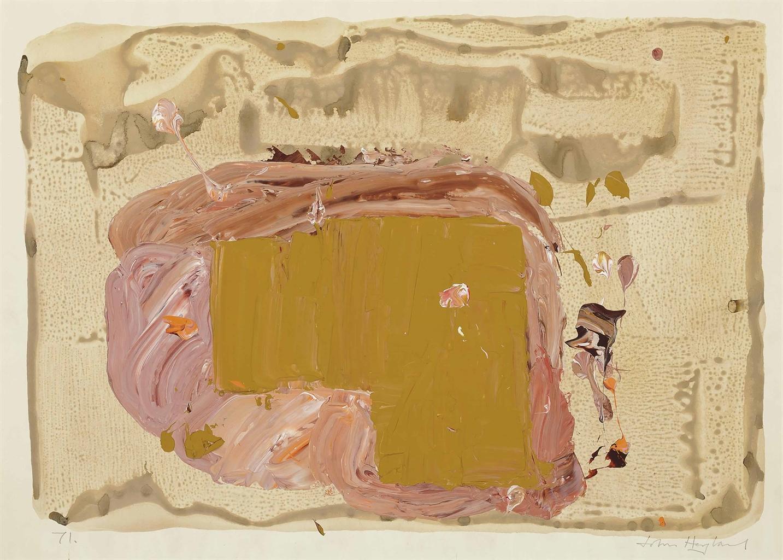 John Hoyland-Untitled 1971-1971