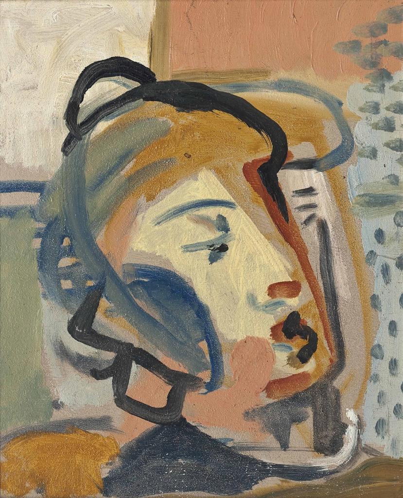 Roger Hilton-Head-1935