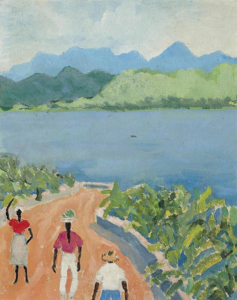 Noel Coward-Jamaican Landscape-1973