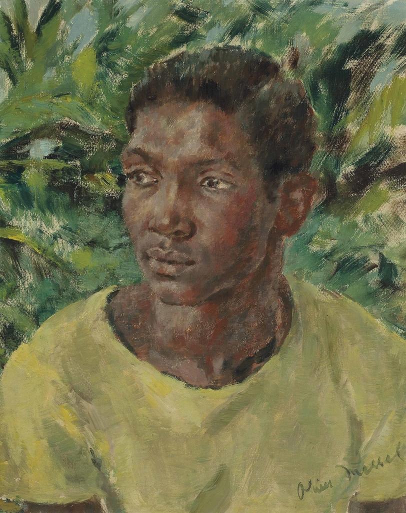 Oliver Messel-Blue Harbour Garden Boy-1951