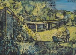 John Minton-Summer Landscape-1950