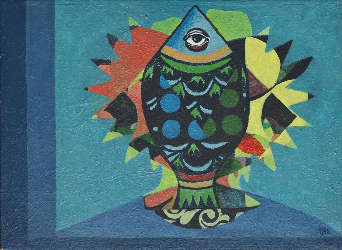 Eileen Agar-Flower into Fish-1972