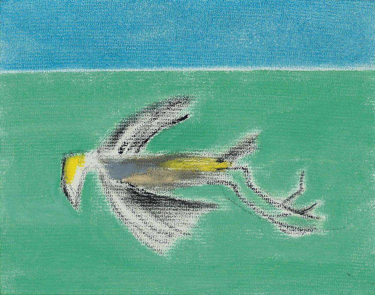 Craigie Aitchison-Dead Bird II-2000