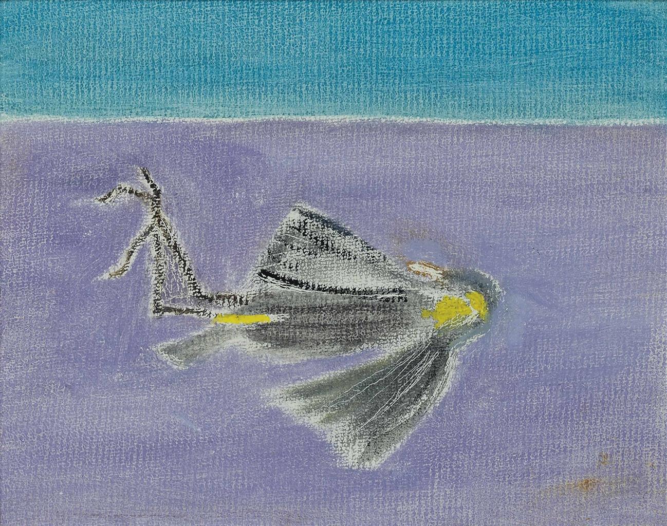 Craigie Aitchison-Dead Bird III-2000