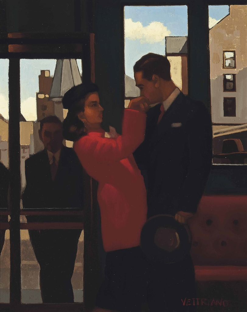 Jack Vettriano-The Perfect Gent-