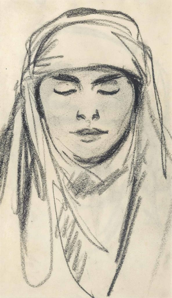 John Duncan Fergusson-Une femme Berbere Paris-1910