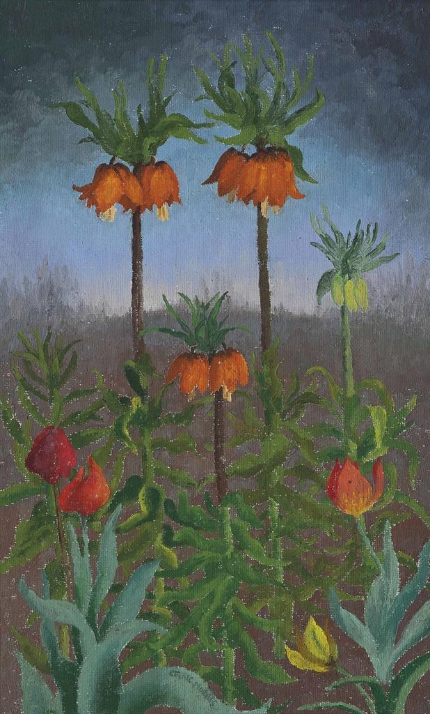 Cedric Morris-Fritillaria-1970
