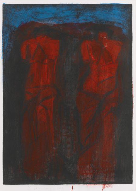 Wayne Thiebaud-Down 18Th-1979