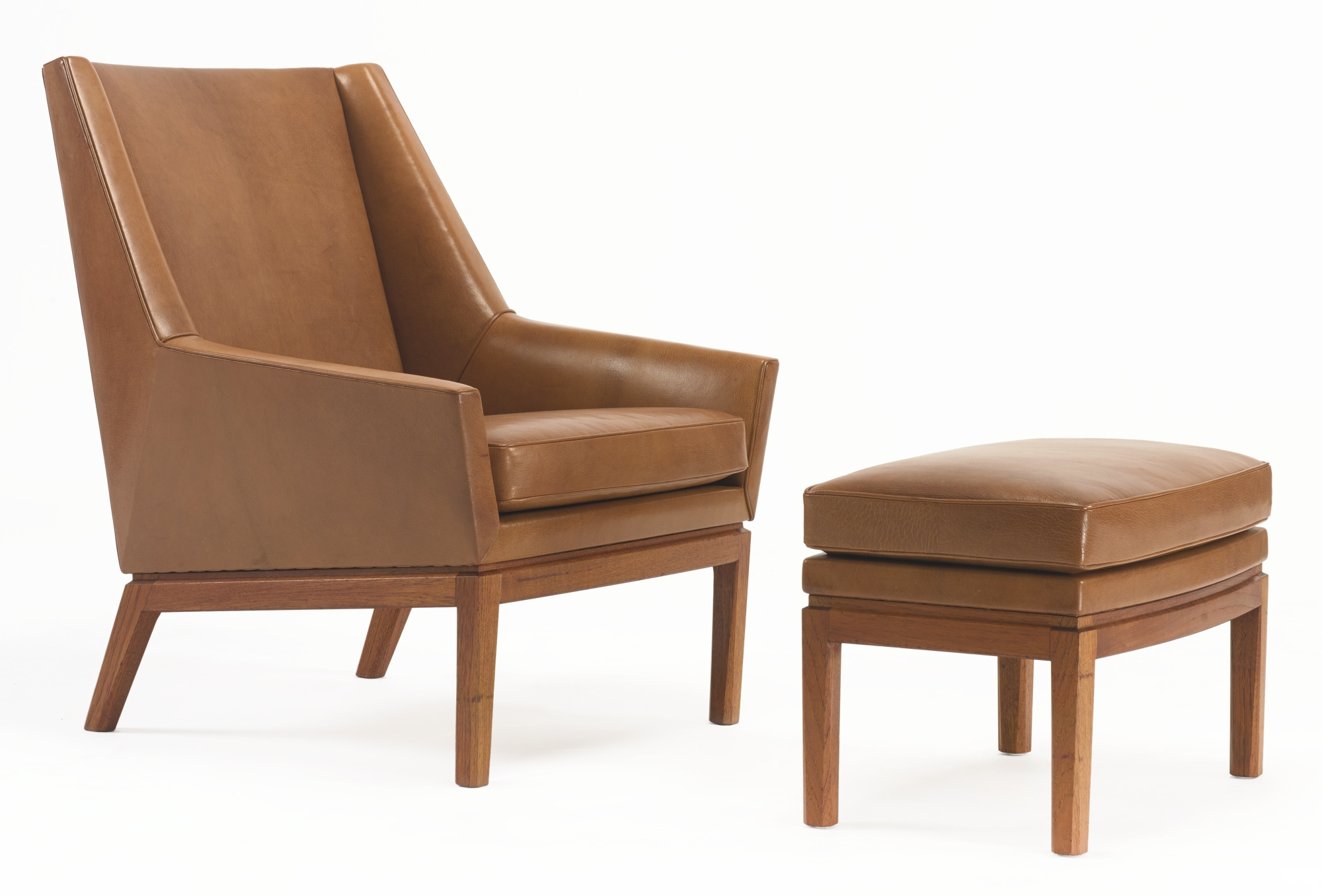 Erik Kolling Andersen & Jorgen Magnussen - Easy Chair And Ottoman-1954