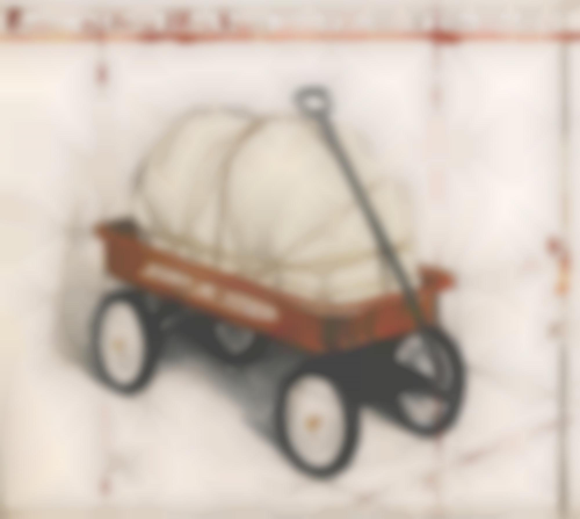 Christo and Jeanne-Claude-Package On Radio Flyer Wagon Project(Schellmann 163)-1993