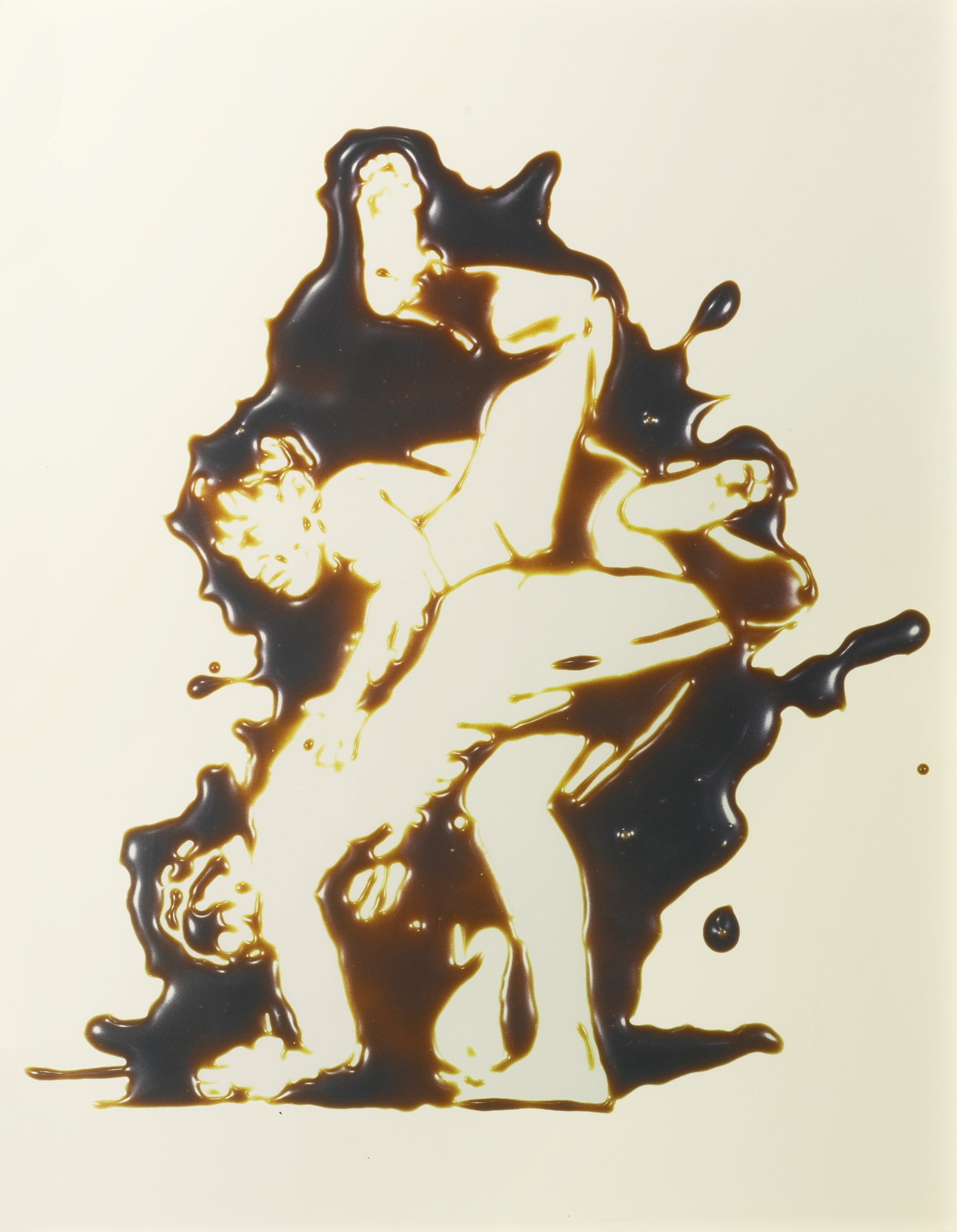 Vik Muniz-Wrestlers (After Muybridge)' (From Pictures Of Chocolate)-1998