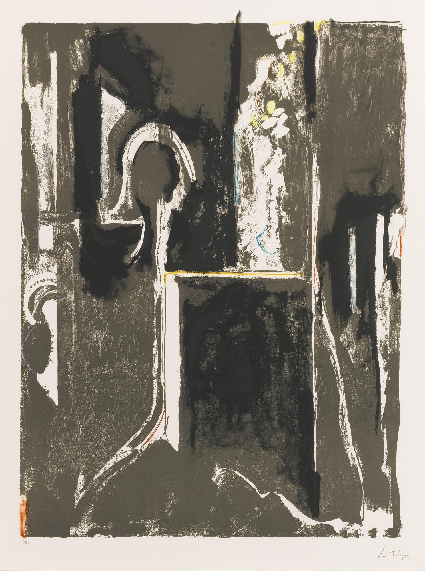 Helen Frankenthaler-Flirting With Stone (H. 171)-1990