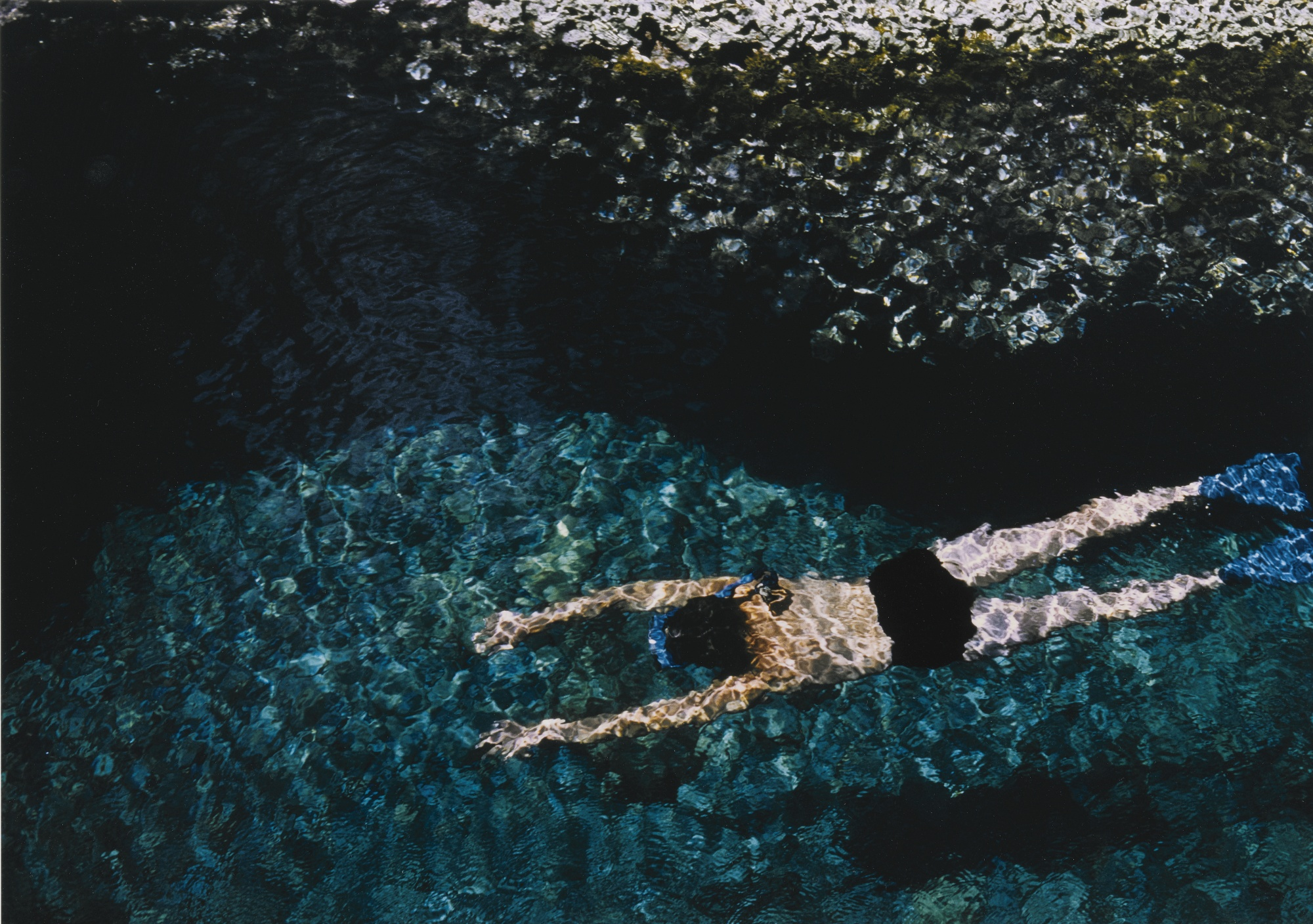 Ernst Haas-Swimmer Greece-1970