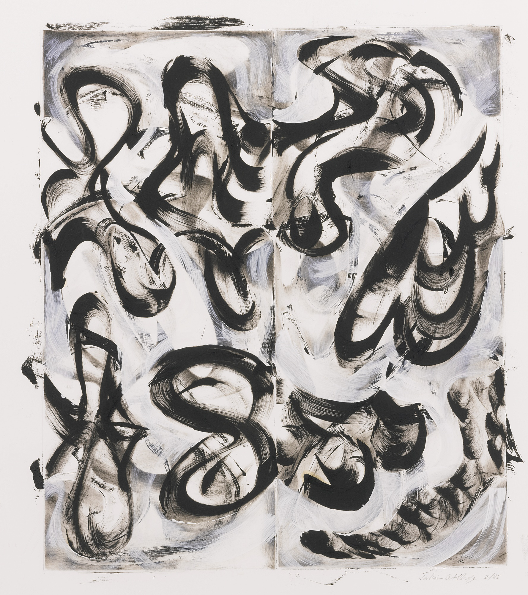Julian Lethbridge-Untitled (Abstract)-1985