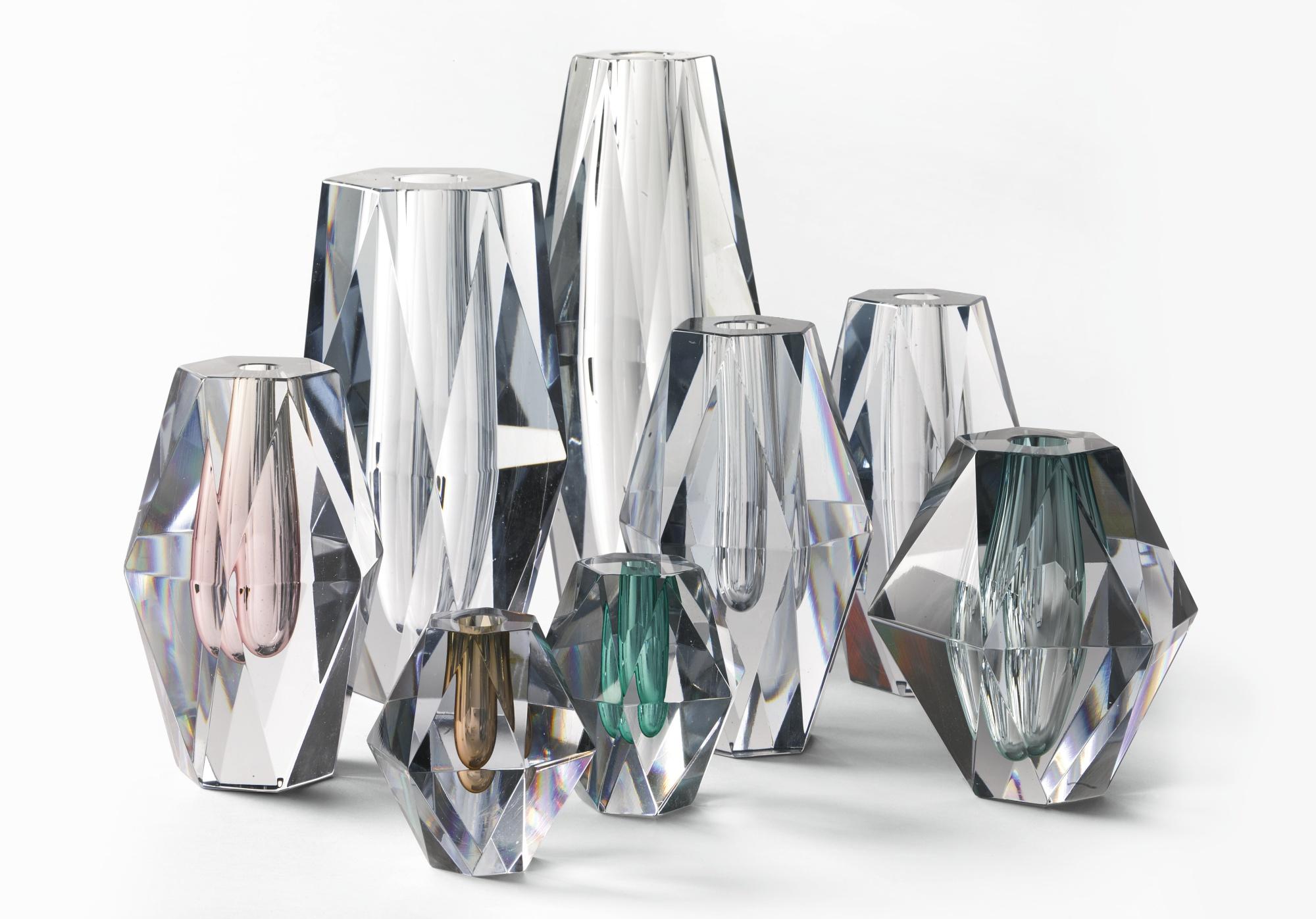 Asta Stromberg - Eight Diamond Vases-1960