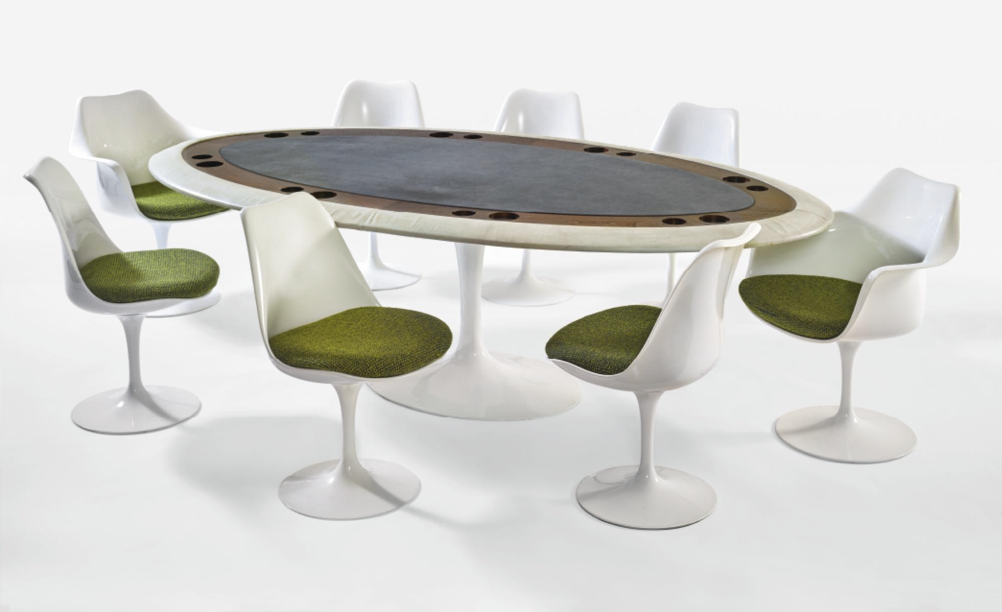 In the Style of Eero Saarinen - Games Table-