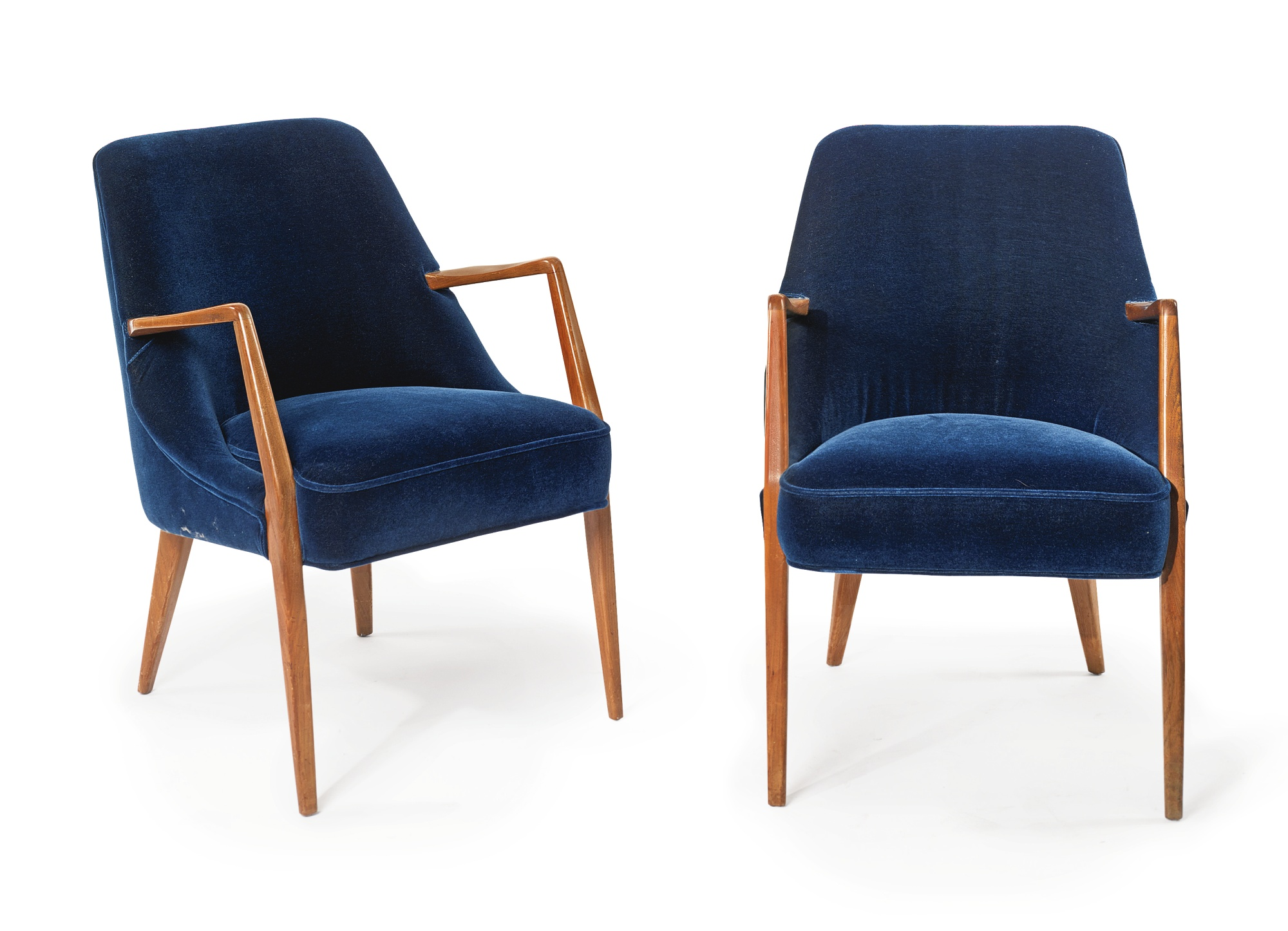 M. Singer and Sons - Pair Of Armchairs-1950