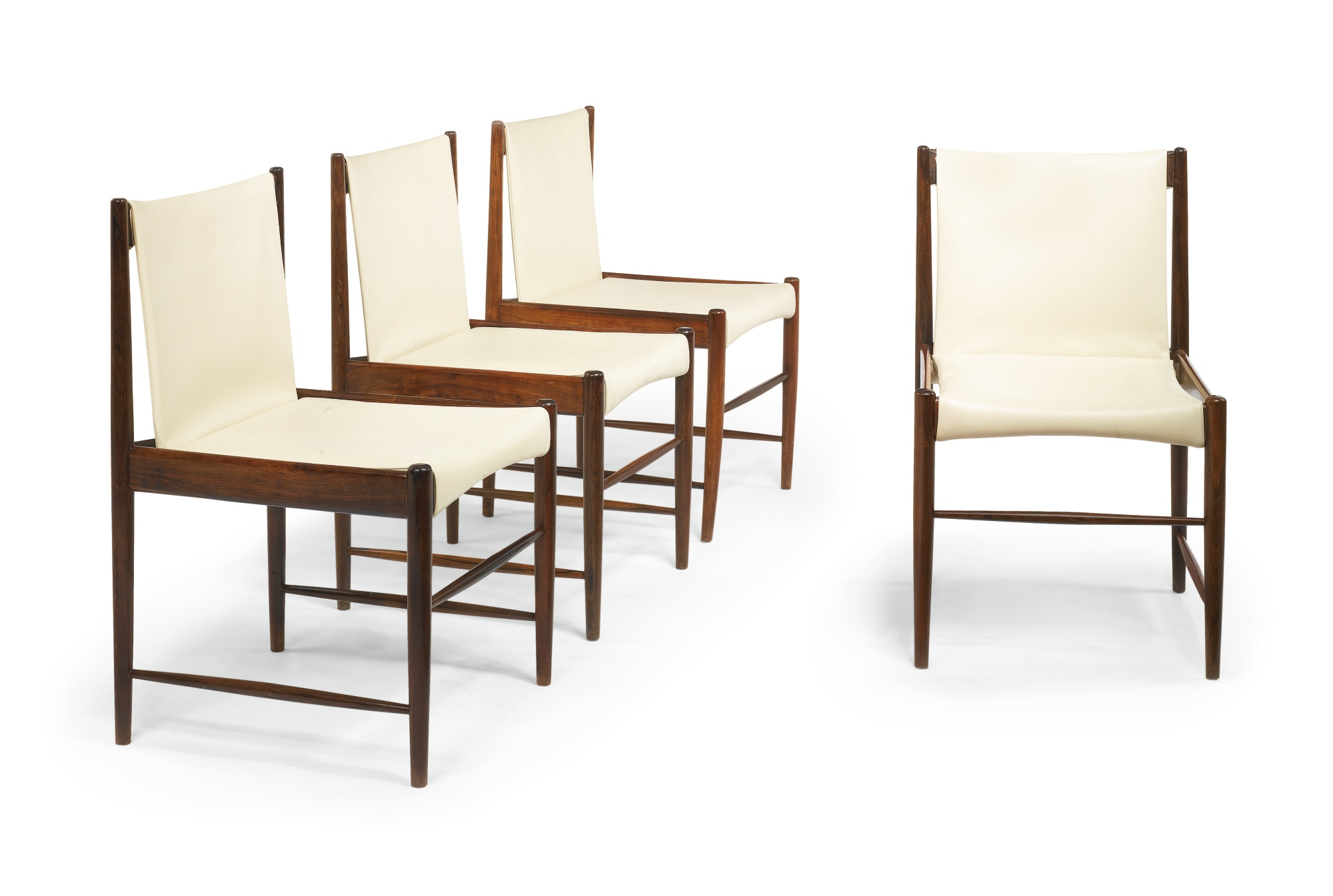 "Sergio Rodrigues - Four ""Cantu"" Chairs-1958"