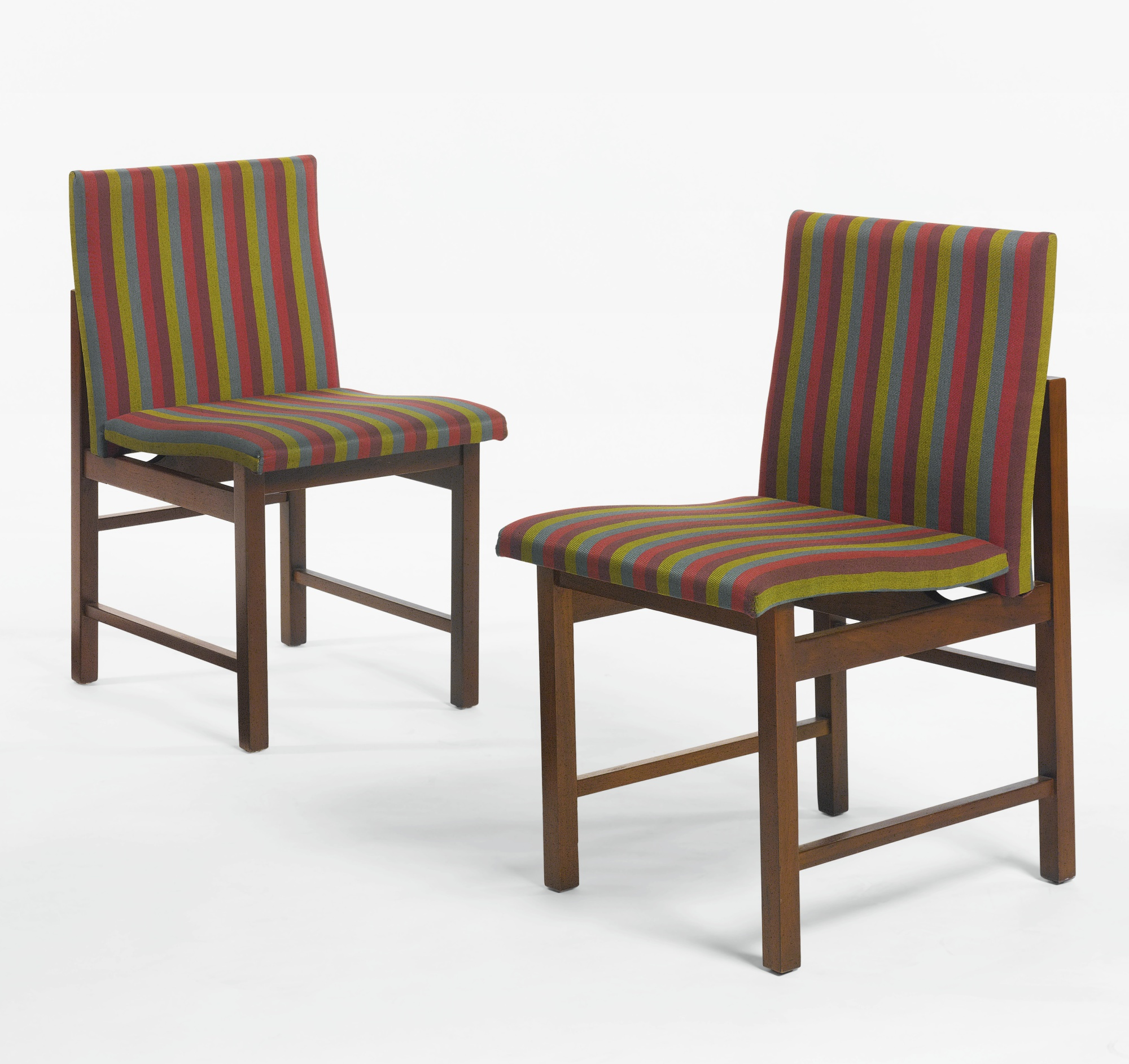 Greta Magnusson Grossman - Pair Of Chairs-1954
