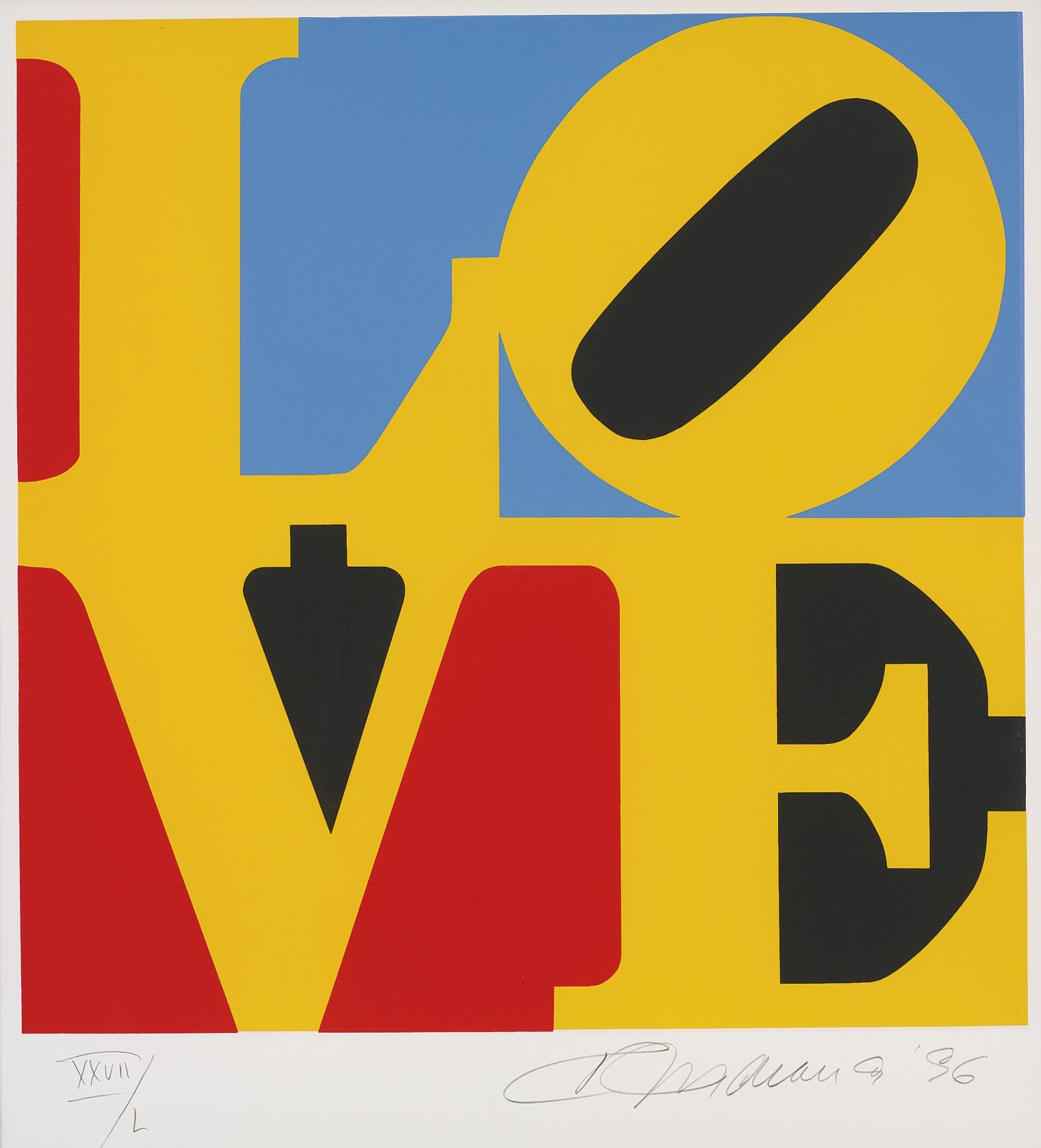 Robert Indiana-Love-1996