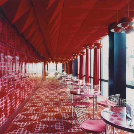 Candida Hofer-Spiegelkantine Hamburg III-2000